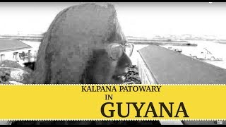 Indian Arrival Day 2014 | Kalpana Patowary in Guyana Airport.