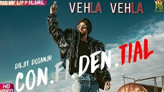 VEHLA VEHLA  Diljit dosanjh   (Full song)   Snappy   Rav hanjra   Latest punjabi song 2018