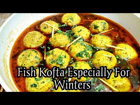 Fish Kofta Curry Recipe ||  Fish Koftay Ka Salan || How To Make Fish Kofta Curry
