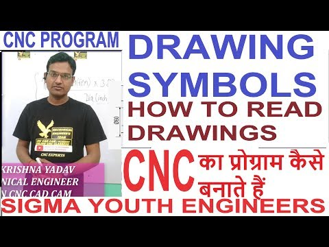 Drawing symbol || how to read drawing || Engineering drawing symbols || engineering drawings