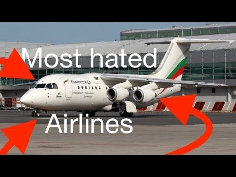 TOP 5 Most HATED Airlines - SKYTRAX