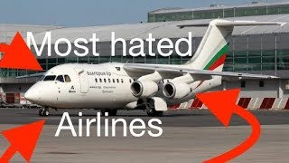 Top 10 Airlines - TOP 5 Most HATED Airlines - SKYTRAX