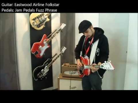 Eastwood Airline Folkstar / Jam Pedals Fuzz Phrase