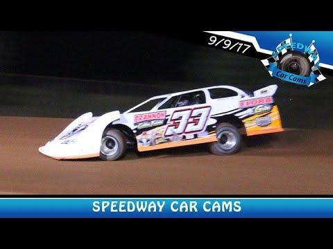 #33 David Brannon - Super Late Model - 9-9-17 Fort Payne Motor Speedway - In Car Camera