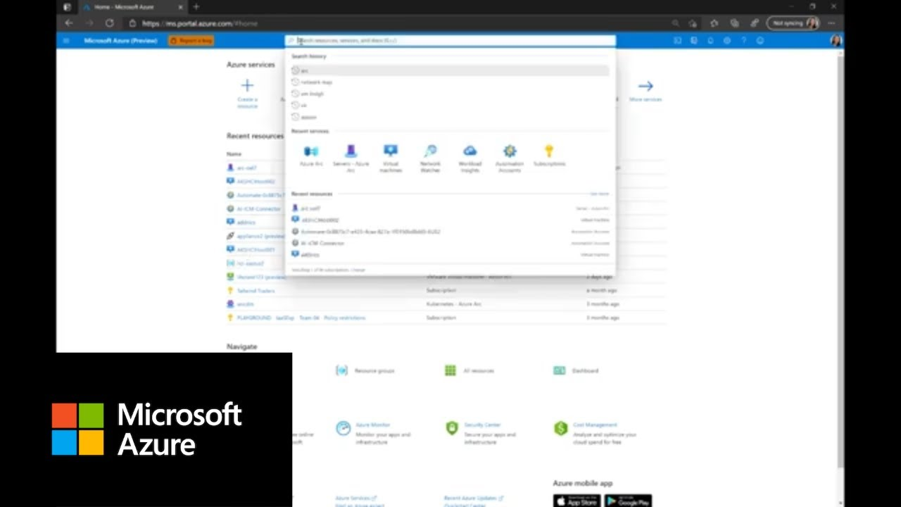 How to Get Started with Azure Arc   Azure Portal Series