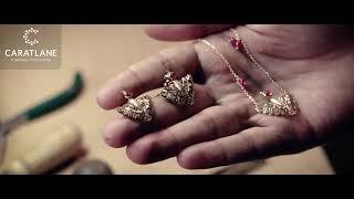 Zyena Pinion Stud Earrings