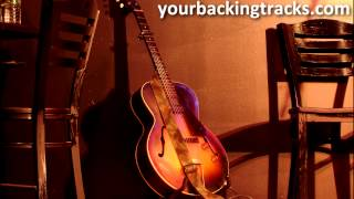 Minor Smooth Jazz Backing Track in Bbm / Free Guitar Jam Tracks TCDG
