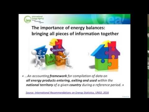 Introduction to energy balances