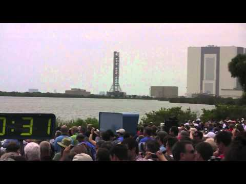 STS-135 Launch from Banana Creek VIP Viewing Site