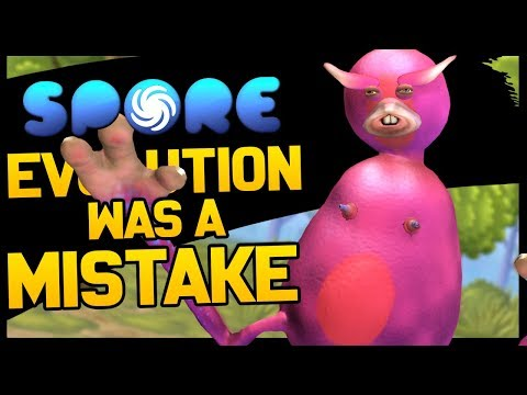 This is Spore and evolution was a mistake thumbnail