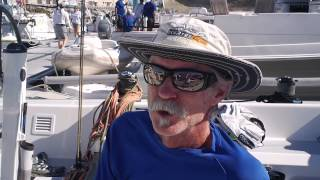 Interview with Mark Reynolds, Sailing Great and Olympic champion, at Quantum Key West 2014