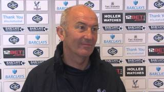 Tony Pulis On Winning Manager of the Month