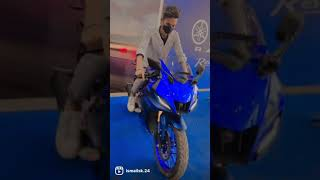 Yamaha R15 V4 Racing Blue🔥 #shorts