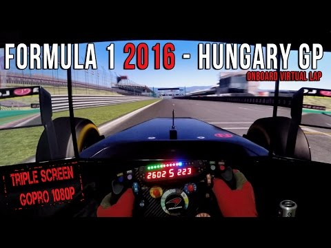 Formula 1 2016 Hungary (Hungria) GP - Circuit de Hungaroring Onboard Virtual