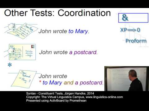 SYN107 - Constituent Tests
