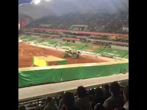 Monster Jam Freestyle à Melbourne, Australie (08.10.2016)