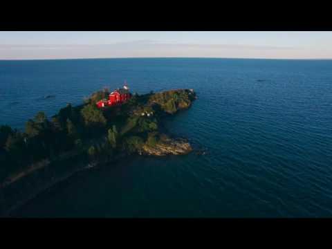 Upper Peninsula, MI: Drone Footage  4K