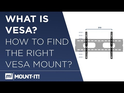 How to Measure Your VESA for TV Mount Wall Installation - Mount-It! TV and Computer Mounts