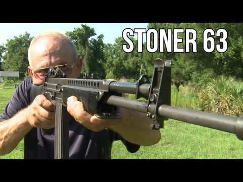 Stoner 63 Full Auto LMG/ Assault Rifle! | Unicorn Guns with Jerry Miculek