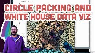 Live Stream #71: Coding Challenges: Circle Packing and White House Data Visualization