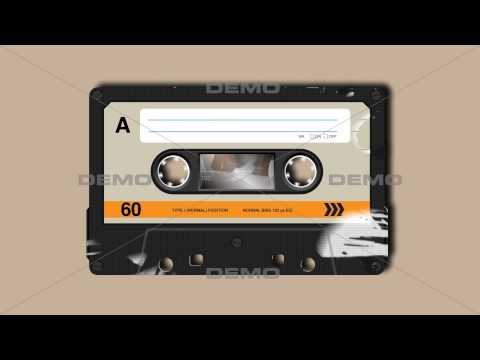 Retro Compact Cassette | with Alpha matte | DEMO