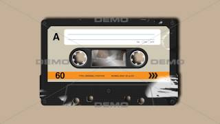 Retro Compact Cassette | with Alpha matte | DEMO