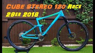 Cube Stereo 120 29er Full Suspension Mountain Bike
