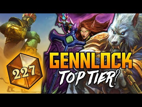 Gennlock to Top 250 Legend   The Witchwood   Hearthstone VOD