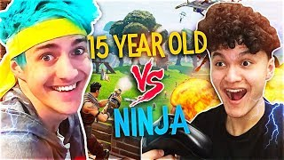 This 15 Year Old Kid Is Better Than Ninja At Fortnite?