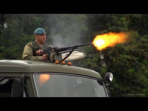 Показательное выступление разведки ВДВ на 9 мая 2018 в Невинномысске