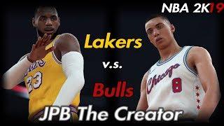 fa822a28d54 NBA 2K19 Roster  Los Angeles Lakers   Chicago Bulls(LaVine) - NBA 2K18