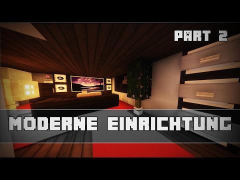 WOHNZIMMER bauen! | Moderne Einrichtung | Minecraft Tutorial