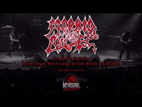 MORBID ANGEL - Live at Bar Opinião - Porto Alegre [2013] [FULL SET]