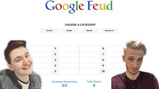 Scott Is The Google Queen - Google Feud W/Smajor