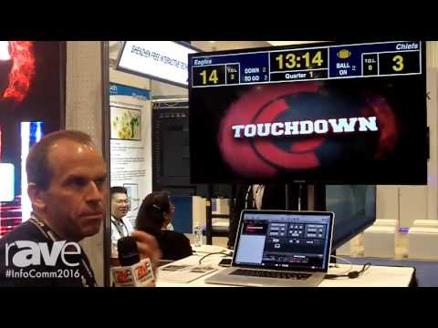 InfoComm 2016: Renewed Vision Demonstrates Launches the New ProPresenter Scoreboard