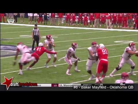 Baker Mayfield (Oklahoma QB) vs Houston 2016
