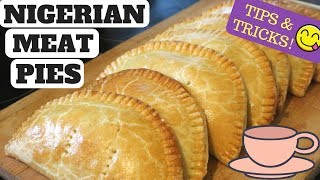 How To Make Foolproof Nigerian Meat Pies | Fully Detailed - Tips & Tricks!!