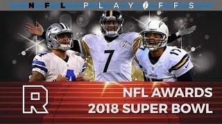 2018 super bowl   talking football live nfl awards   the ringer
