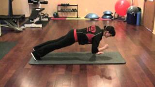Walking Plank - Personal Training Exercise Of The Day