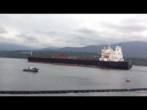 Media tours TransMountain pipeline's Burnaby Terminal and We