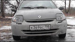 Renault Clio II, 1.4, 2001.  Обзор Рено Клио 2, 1.4, 2001 г.в. седан