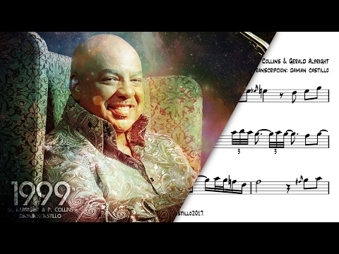 """Against All Odds"" - Gerald Albright With Phil Collins Big Band - 🎷Sax Alto Transcription🎷"