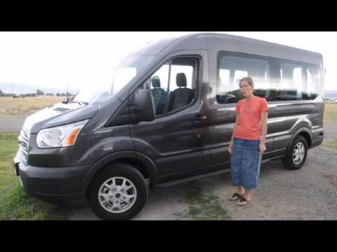 Ford Transit Van tour