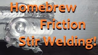 Friction Stir Welding on a Bridgeport Mill