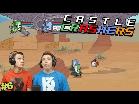 MÉG AZ UFÓK IS ELRABOLNAK MINKET?!   Castle Crashers #6