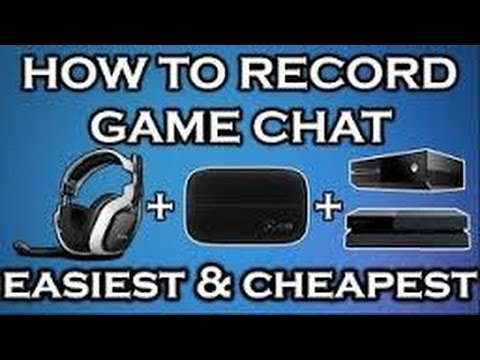 How to Record Xbox One GAME AND PARTY CHAT With Elgato HD60!!