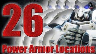 【Fallout4】パワーアーマーの入手場所26選 26Power Armor Locations