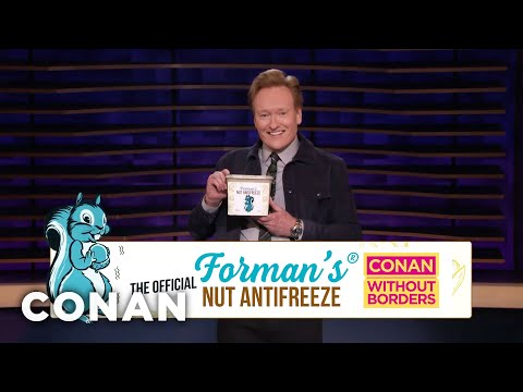 What Conan Is Packing For His Trip To Greenland - CONAN on TBS