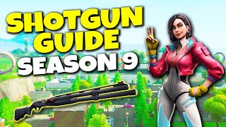 How To Use Combat Shotgun In Fortnite Season 9 | New Gun Tips