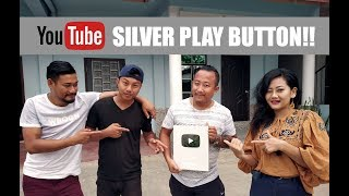 Finally we received Silver Play Button!! | Dreamz Unlimited
